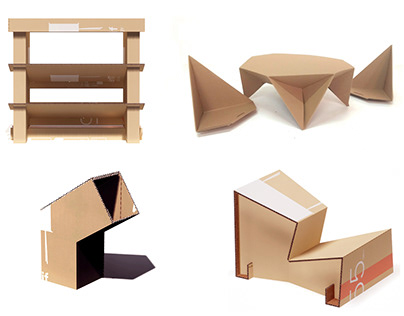 RECYCLED CARDBOARD FURNITURE