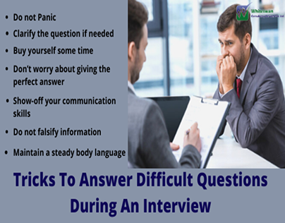 Tricks to answer difficult questions during an Intervi