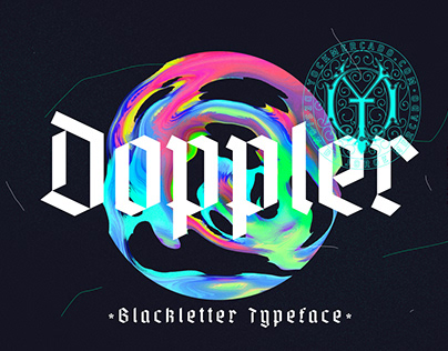 Doppler Modern Blackletter