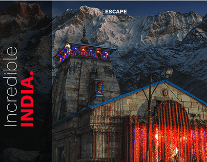 Incredible India - Landing Page Design