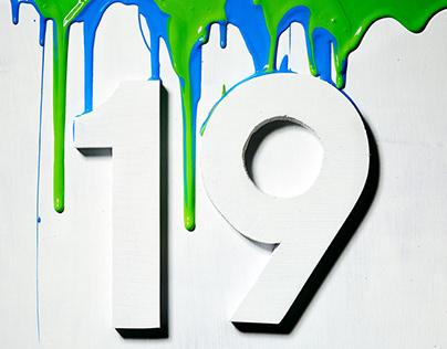 Nineteen 19's for 2019!