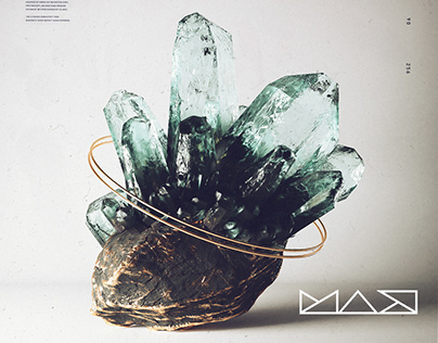 Crystal Study | Featured in Adobe MAX 2019