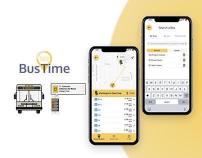 BusTime: UX/UI Design of a Public Transportation App
