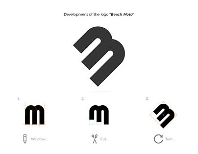 "Logo ""Beach Moto"""