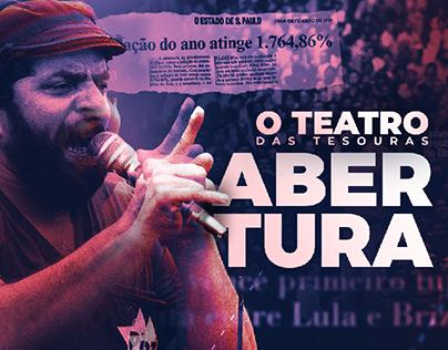 Abertura | O Teatro das Tesouras