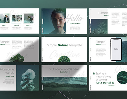 Simple Nature Template (FREE)
