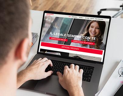 Website - Avvocato Focus (Servizi di Consulenza Legale)