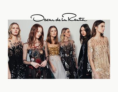 E-commerce: redesign for Oscar de la Renta