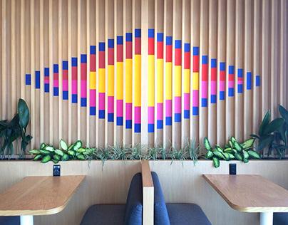 Geometrical Mural @ CDMX