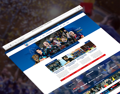 RK Zagreb Website UI Design