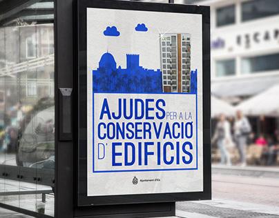 """Diseño gráfico para campaña """"Ayudas"""""""