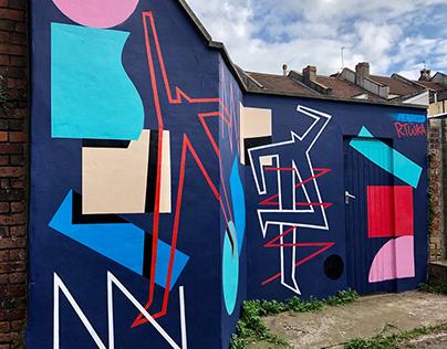 Penfold x RTiiiKA mural