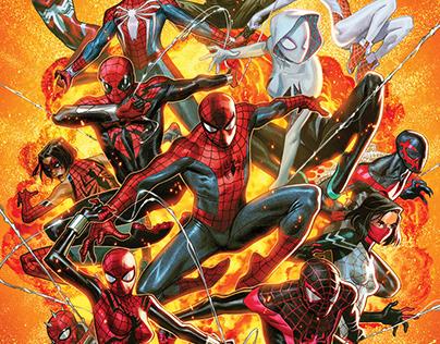 SPIDERGEDDON #1 COVER