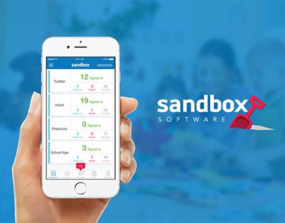Sandbox Mobile App Design