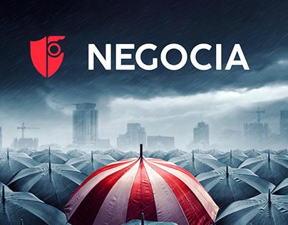 Negocia Corredores Logo & Sitio web