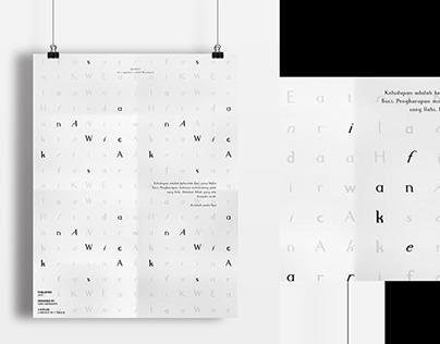 Wicaksana Typeface