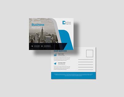 Corporate Business professional postcard Design