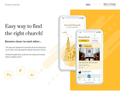 Church App Concept