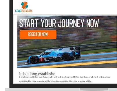 UI/UX Website wireframe
