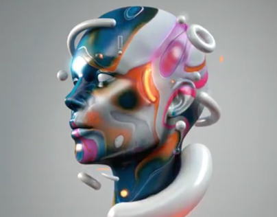 Video head with colors