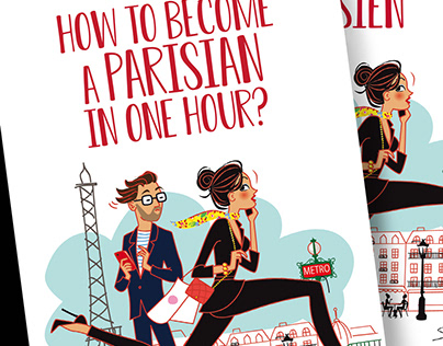 """How to become a parisian in one hour"" book"