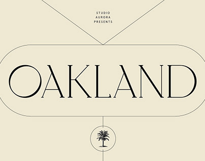 Oakland – Decorative Display Serif