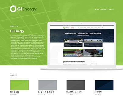 GI Energy Rebrand + Website Design