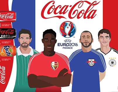 Coca-Cola Packaging for UEFA Euro2016 France