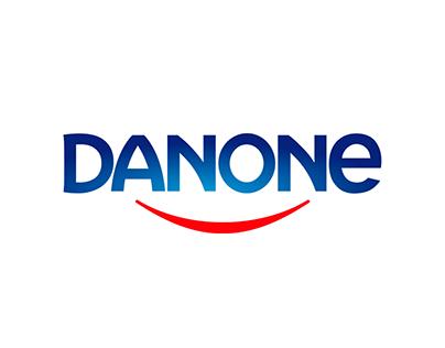 3D Motion Graphics Danone
