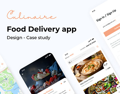 Food Delivery App - UX Case Study