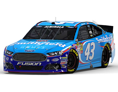 2014 #43 Smithfield 'Made in USA' Ford Fusion