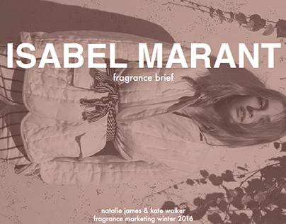Isabel Marant Le Maraís | Fragrance Marketing