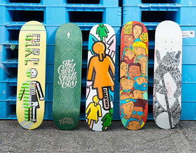 Adobe + Girl Skateboards: Make it Girl