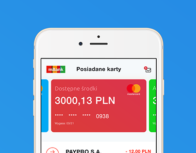 mBank - app concept
