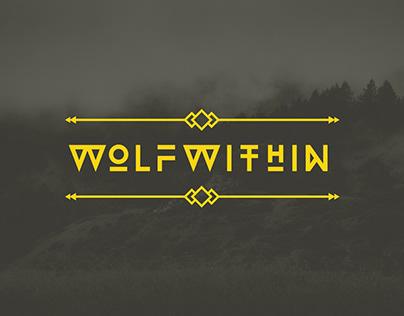 Wolfwithin — Shirt Design & Landing Page