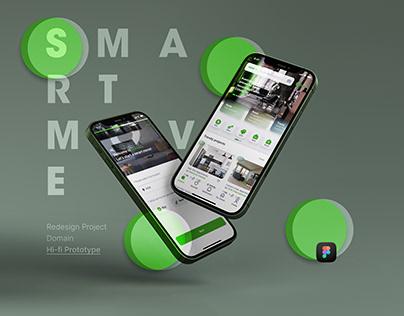 Smart Move (Domain redesign) UX/UI - Real Estate App