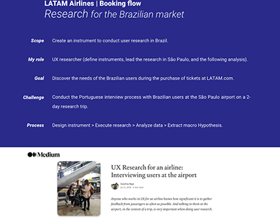 Booking Flow - Research for the Brazilian market