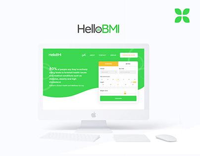 BMI Calculation Website Design