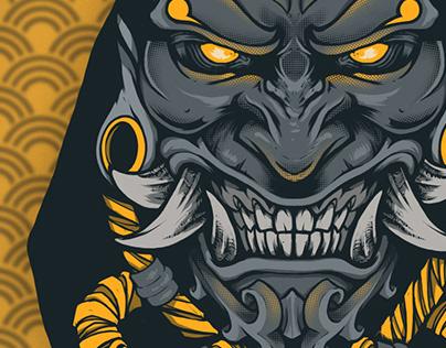Dark mask №2