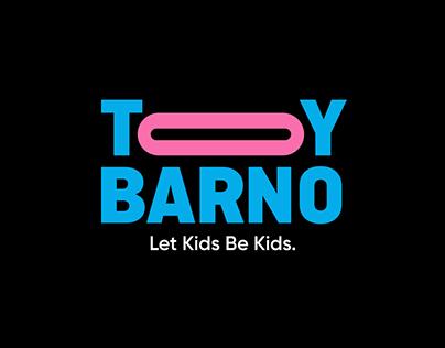 ToyBarno Game Company Identity Design