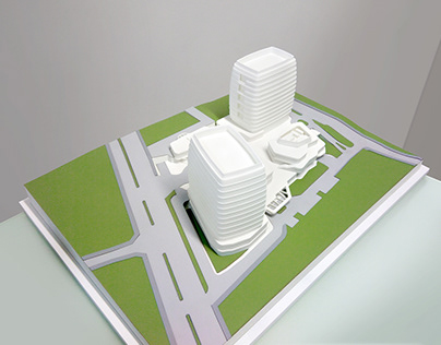 ACIBADEM Hospital - Scale 1/500
