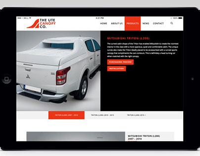 The Ute Canopy Co digital solutions