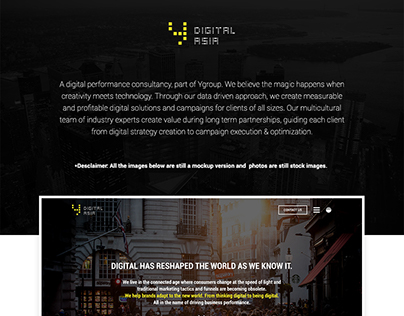 Ydigital Asia Website