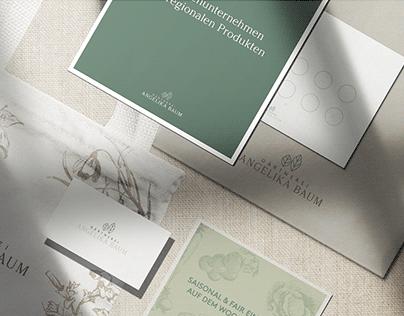 Gärtnerei Baum - Corporate Design