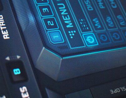 Sylenth Skin Nitro GUI design for VST Synthesizer