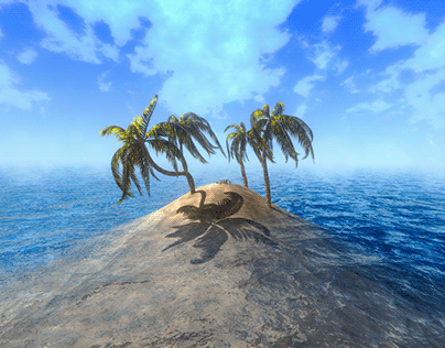 #NVJOB Water Shader - simple and fast.