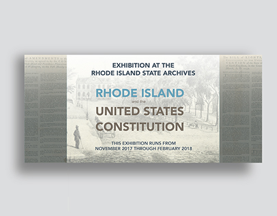 """""""RI and the US Constitution"""" State Archives Exhibition"""