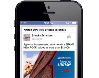 Facebook Ads (Brincks Exteriors)