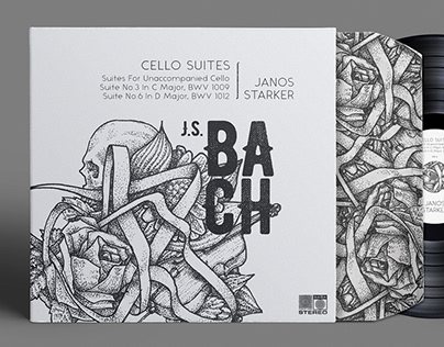 J.S.Bach, Cello Suites LP