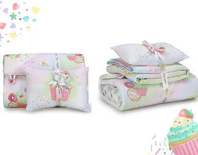 CandLand - Baby Bedding|Prints for a baby product brand